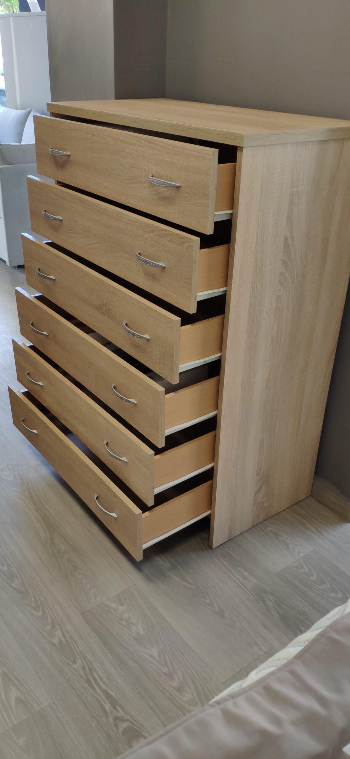 Συρταριέρα 6 θέσεων